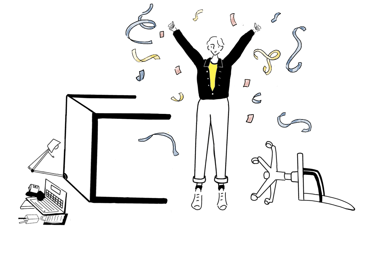 dump your day job celebration