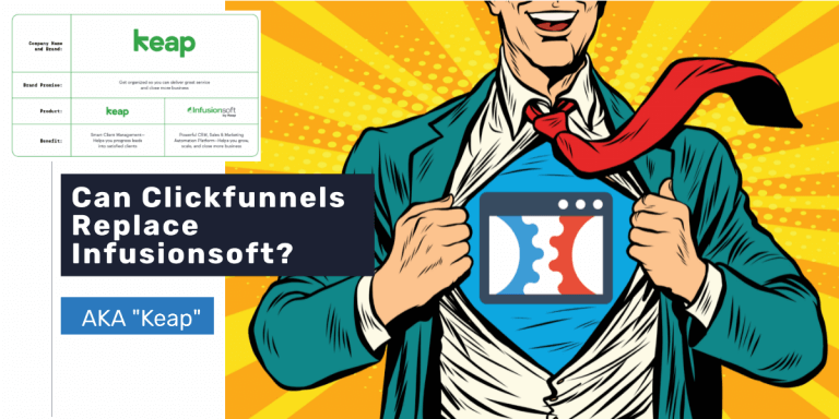 Can Clickfunnels Replace Infusionsoft?